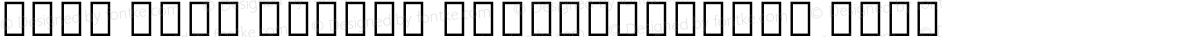 Noto Sans Arabic SemiCondensed Bold
