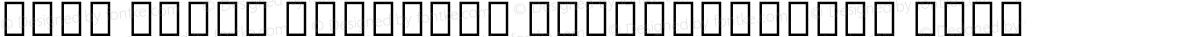 Noto Serif Ethiopic SemiCondensed Thin