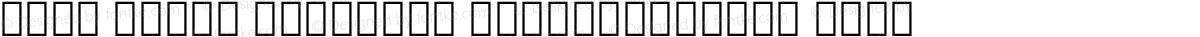 Noto Serif Georgian SemiCondensed Thin