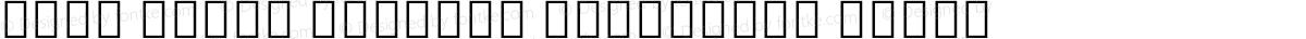 Noto Serif Myanmar Condensed Black