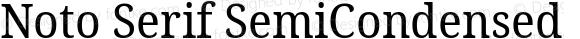 Noto Serif SemiCondensed
