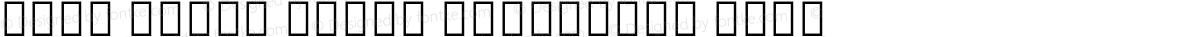 Noto Serif Tamil Condensed Thin