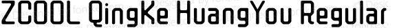 ZCOOL QingKe HuangYou Regular Version 1.000