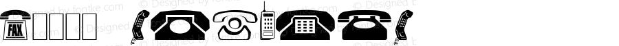 0电话图标 Regular Version 1.00 November 25, 1930, initial release