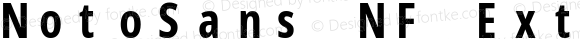 NotoSans NF ExtraCondensed Bold