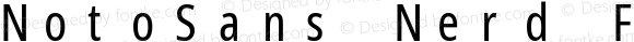 NotoSans Nerd Font Mono ExtraCondensed