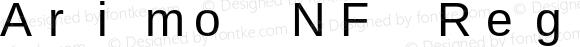 Arimo NF Regular Version 1.23