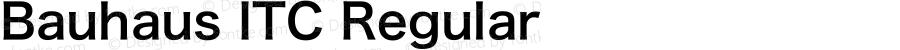 Bauhaus ITC