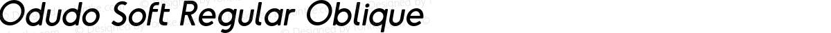Odudo Soft Regular Oblique