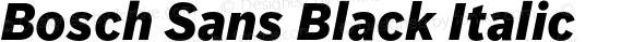 Bosch Sans