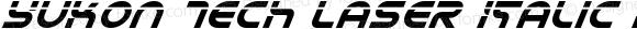 Yukon Tech Laser Italic