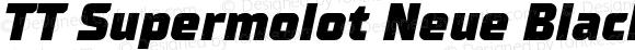 TT Supermolot Neue Black Italic