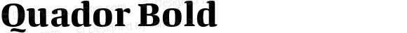 Quador Bold