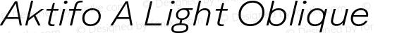 Aktifo A Light Oblique