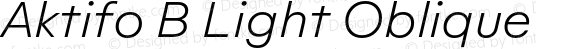 Aktifo B Light Oblique