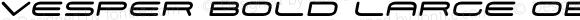 Vesper Bold Large Oblique