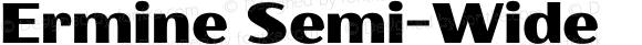Ermine Semi-Wide