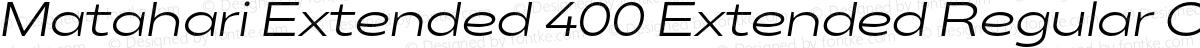 Matahari Extended 400 Extended Regular Oblique
