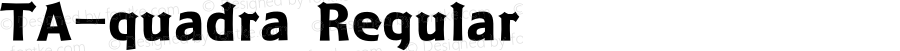 TA-quadra Regular Version 3.00
