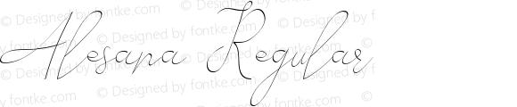 Alesana Regular