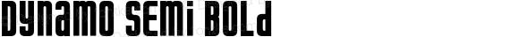 Dynamo Semi Bold