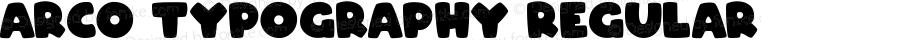 ARCO Typography Regular