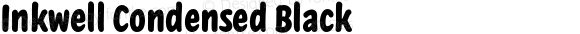 Inkwell Condensed Black