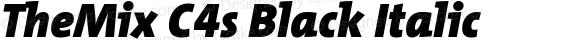 TheMix C4s Black Italic Version 2.000