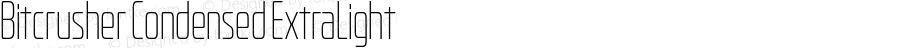 Bitcrusher Condensed ExtraLight Version 1.000   wf-rip DC20190205