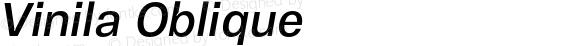 Vinila Oblique