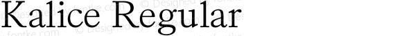 Kalice Regular