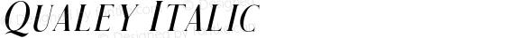 Qualey Italic