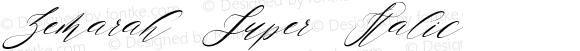 Zemarah Super Italic