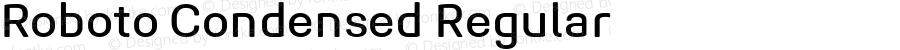 Roboto Condensed Regular