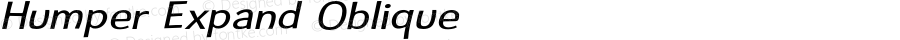 Humper Expand Oblique Version 1.008 2005