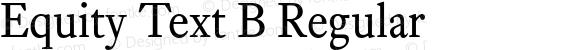 Equity Text B Regular