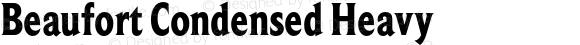 Beaufort Condensed Heavy