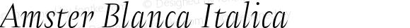 Amster Blanca Italica Version 1.000;PS 001.000;hotconv 1.0.70;makeotf.lib2.5.58329