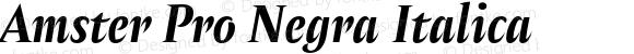Amster Pro Negra Italica Version 1.000;PS 001.000;hotconv 1.0.70;makeotf.lib2.5.58329