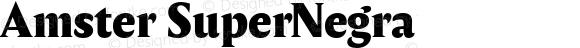 Amster SuperNegra Version 1.000;PS 001.000;hotconv 1.0.70;makeotf.lib2.5.58329