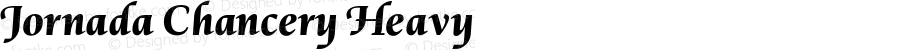 Jornada Chancery Heavy Version 1.000;PS 001.000;hotconv 1.0.88;makeotf.lib2.5.64775