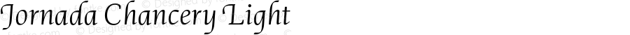 Jornada Chancery Light Version 1.000;PS 001.000;hotconv 1.0.88;makeotf.lib2.5.64775