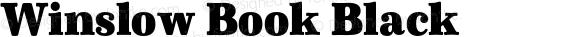 Winslow Book Black