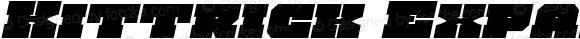 Kittrick Expanded Italic Expanded Italic