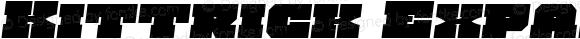 Kittrick Expanded Semi-Italic Expanded Semi-Italic
