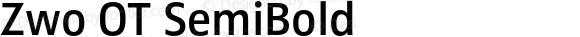 Zwo OT SemiBold Version 7.504
