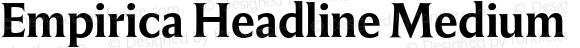 Empirica Headline Medium