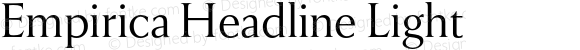 Empirica Headline Light