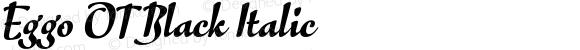 Eggo OT Black Italic
