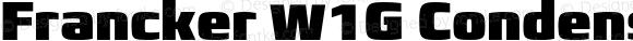 Francker W1G Condensed ExtraBlack